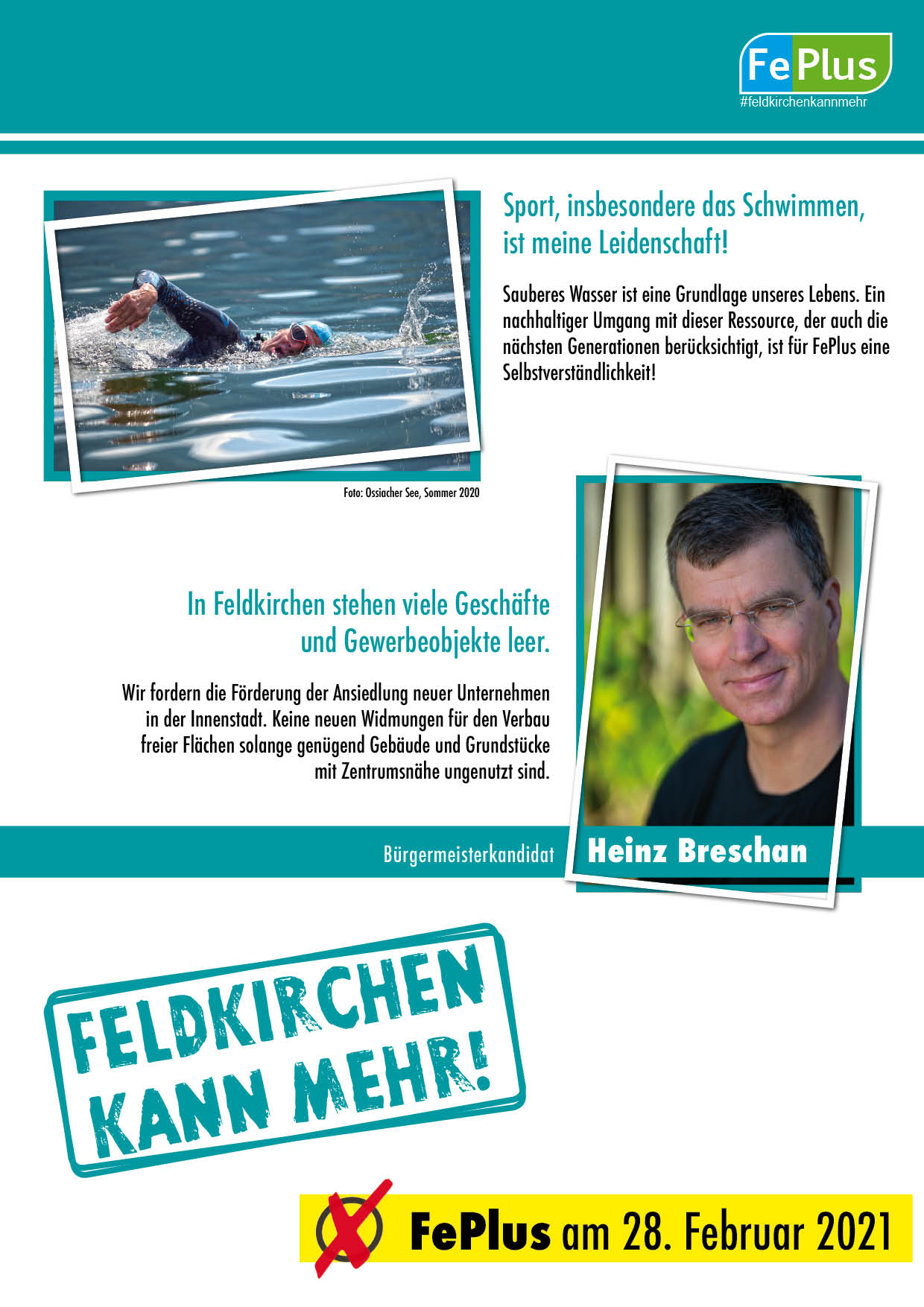 Bürgermeisterkandidat Heinz Breschan